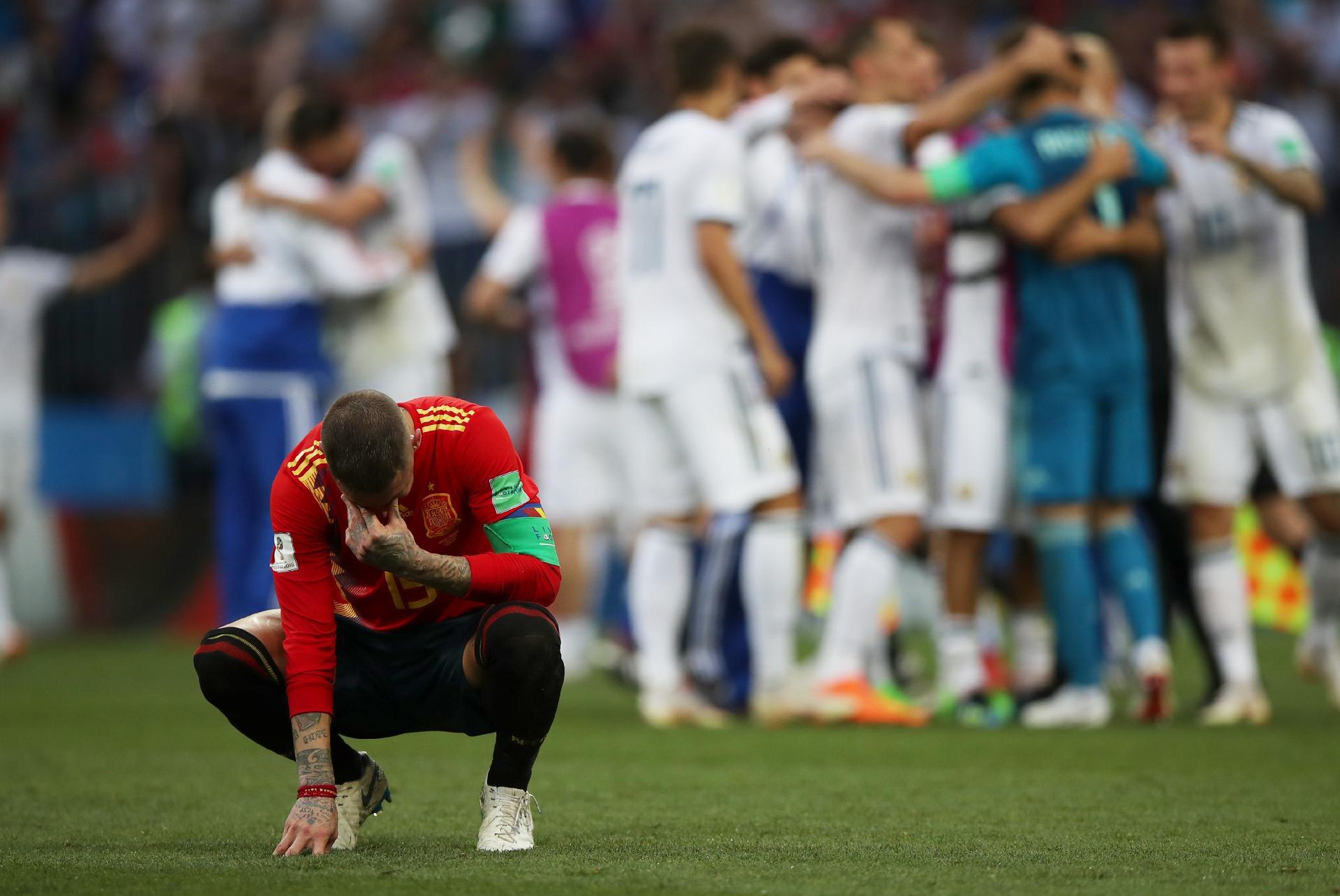 223770aa44 Espanha na Copa 2018  Sergio Ramos desabafa após eliminação espanhola