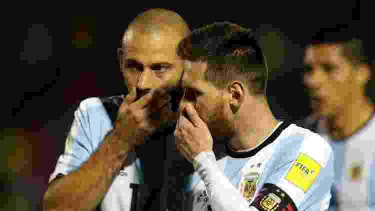 Messi e Mascherano - Henry Romero/Reuters - Henry Romero/Reuters