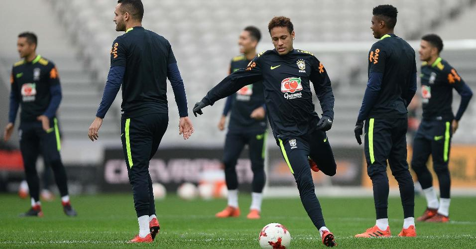 Direitos são da NR Sports | Veto a uso da imagem de Neymar incomoda patrocinadores da CBF
