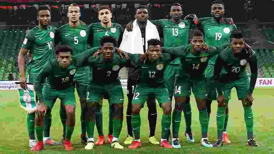 Copa do Mundo 2018  Nigéria longe da Nigéria  seleção tem base que ... 37ff860f95ddb
