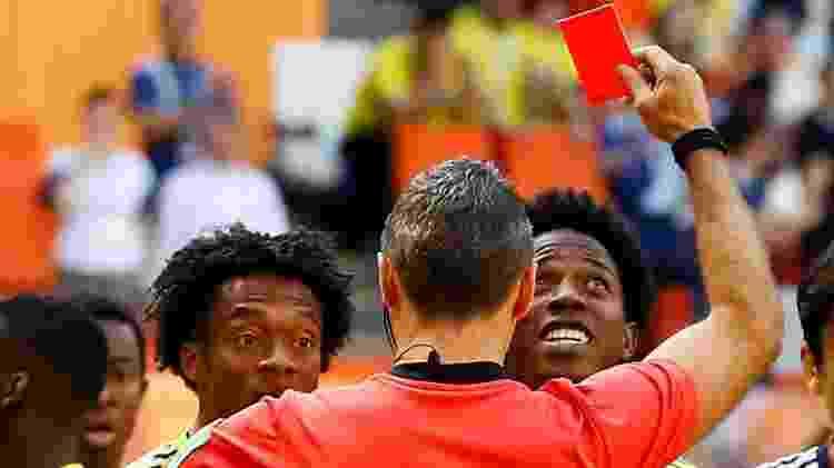Colômbia Japão Carlos Sánchez - REUTERS/Jason Cairnduff - REUTERS/Jason Cairnduff