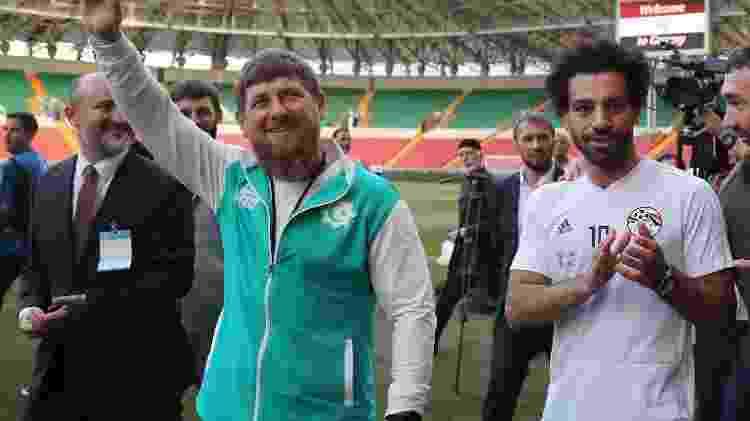 Salah e Kadyrov - Karim Jaafar/AFP - Karim Jaafar/AFP