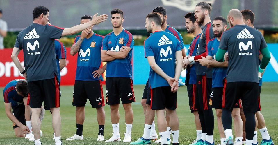 Hierro treino Espanha