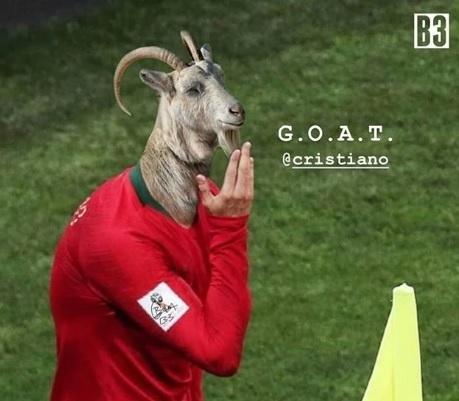 Amigo de Cristiano Ronaldo publicou foto com bode