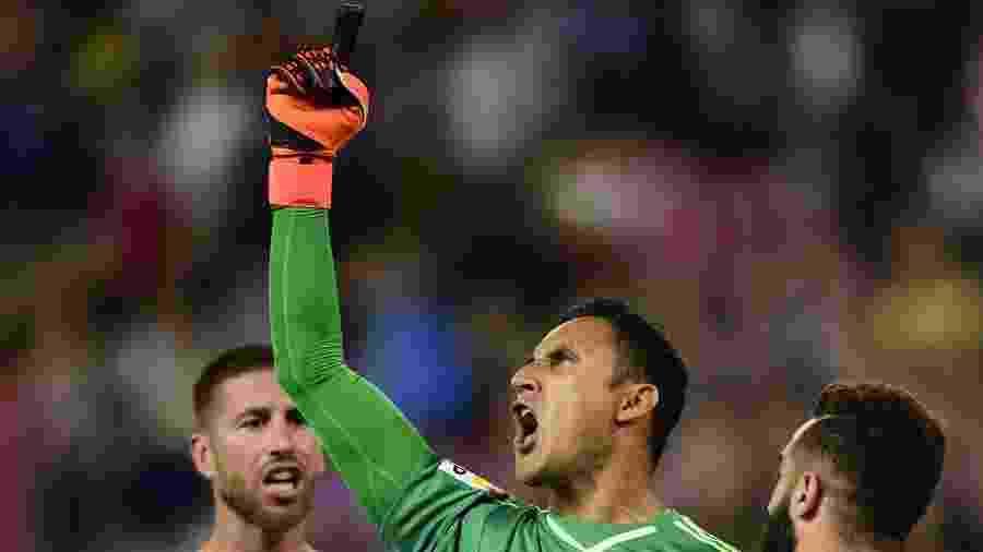 Keylor Navas, goleiro do Real Madrid - Javier Soriano/AFP