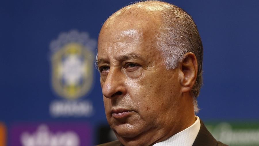 Marco Polo Del Nero foi banido do futebol pela Fifa, mas segue com cargo de conselheiro no Palmeiras - Marcelo Sayão/EFE