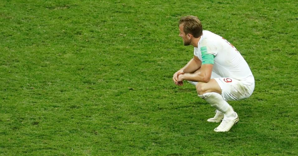 Henry Kane lamenta eliminação da Inglaterra na semifinal da Copa do Mundo