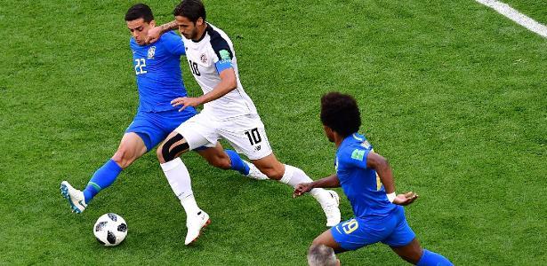 Meia disputou a Copa do Mundo pela seleção da Costa Rica e encarou o Brasil na Rússia