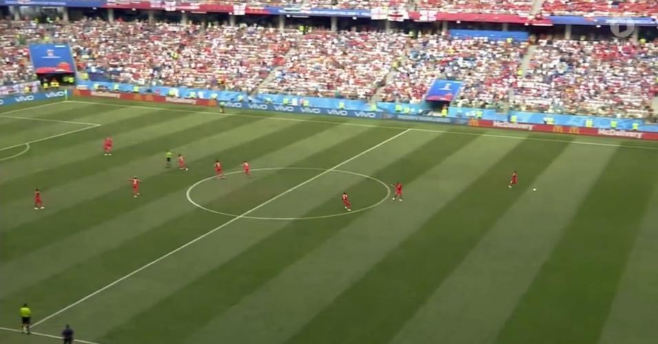 Panamá tenta gol Inglaterra Copa do Mundo