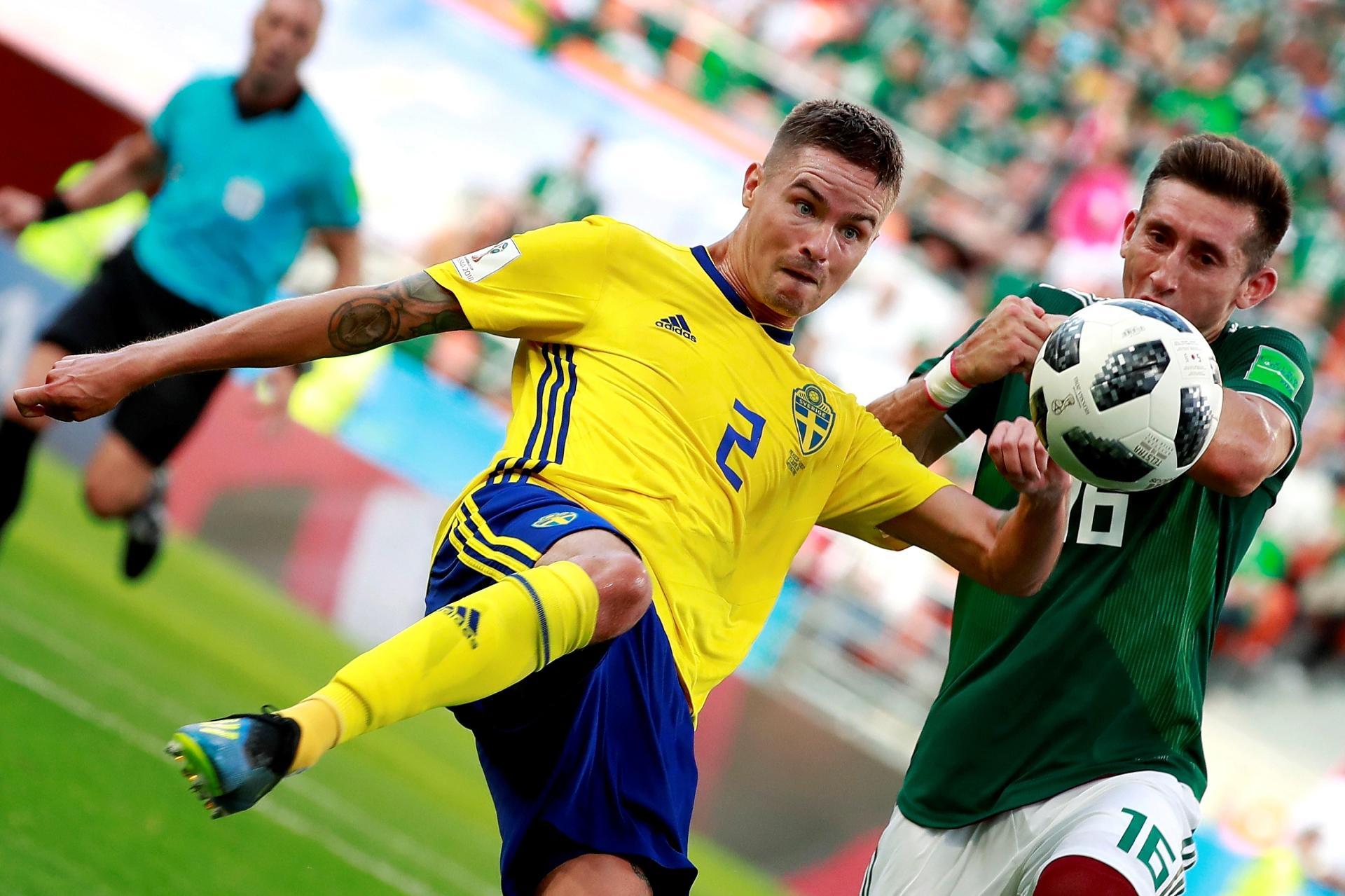 México x Suécia  Suécia passeia contra México 32183a6f3c8b7
