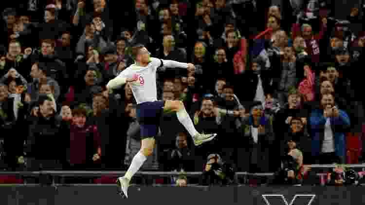 Jamie Vardy comemora gol da Inglaterra contra a Itália - REUTERS/Darren Staples - REUTERS/Darren Staples