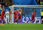 Integrante da comissão técnica do Irã passa mal após gol anulado - Xinhua/Liu Dawei