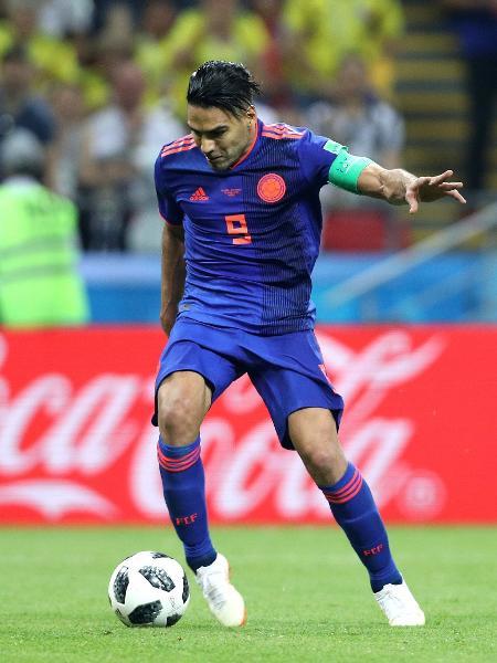 Falcao Garcia atuando pela seleção da Colômbia na Copa do Mundo de 2018 - Patrick Smith - FIFA/FIFA via Getty Images