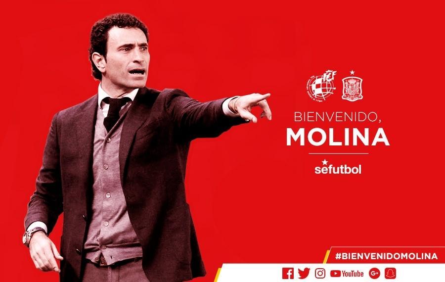 Molina é anunciado como diretor da federação espanhola