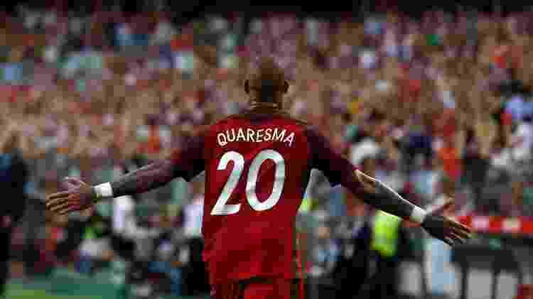 Ricardo Quaresma comemora gol por Portugal contra a Estônia - REUTERS/Rafael Marchante - REUTERS/Rafael Marchante