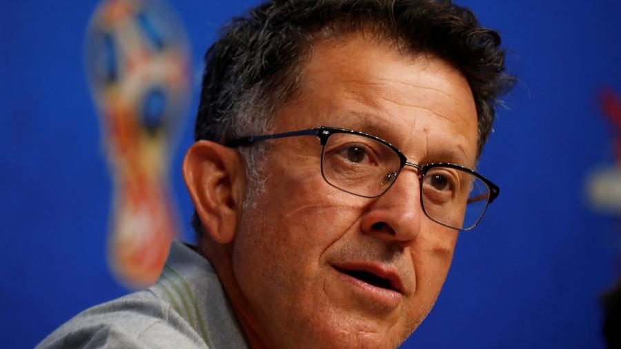 Juan Carlos Osorio, técnico do México, concede entrevista coletiva - REUTERS/David Gray