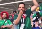 Brasileiros acusam torcedor mexicano de fazer gestos racistas em estádio - Reprodução