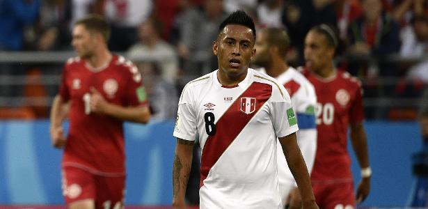 Cueva defendeu a seleção peruana na Copa do Mundo da Rússia