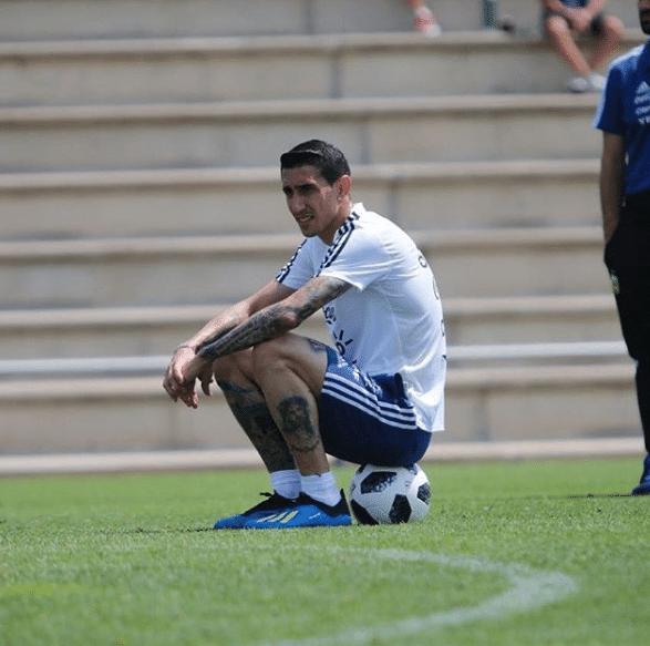 Di María posta mensagem motivacional após a estreia da Argentina