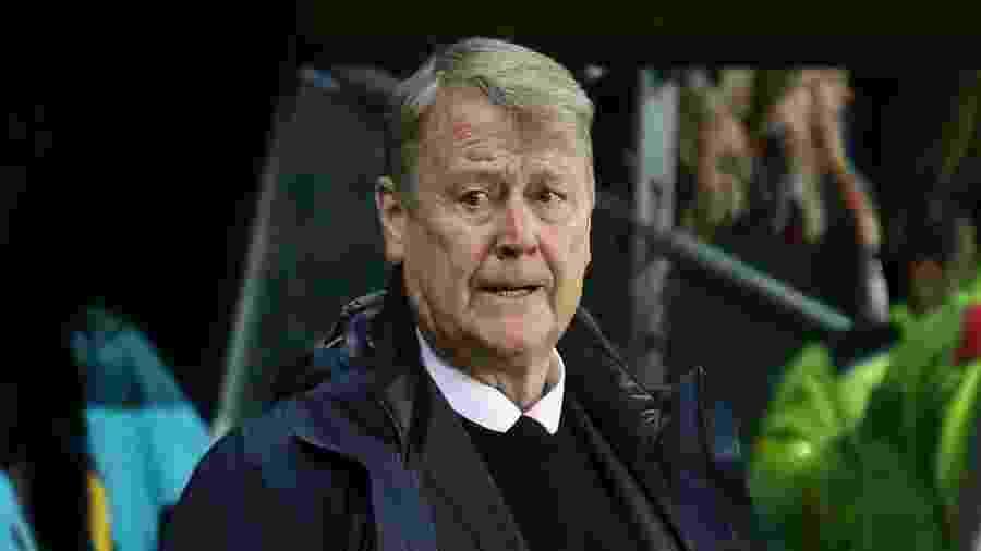 Age Hareide, técnico da Dinamarca - Jean Catuffe/Getty Images