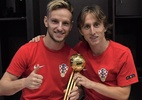 """""""Messi é o melhor da história, mas este foi o ano de Modric"""", diz Rakitic - Reprodução/Twitter"""