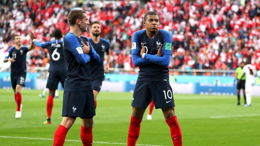 Kylian Mbappé não deverá atuar na partida contra a Dinamarca - Catherine Ivill/Catherine Ivill