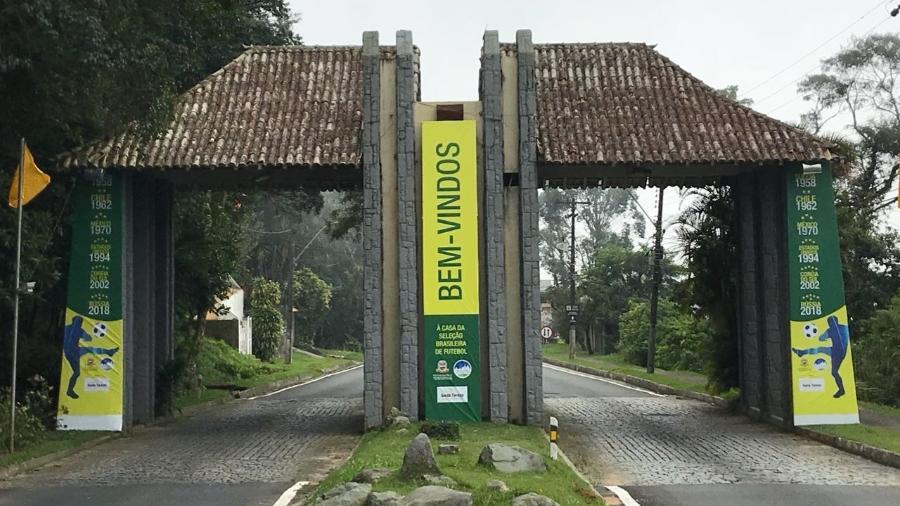 Entrada de Teresópolis é um dos poucos lugares que sofreu alteração - Pedro Ivo Almeida/UOL Esporte