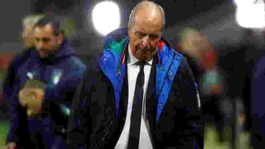 Ventura é apontado como responsável pelo fiasco da Itália nas eliminatórias - Kai Pfaffenbach/Reuters