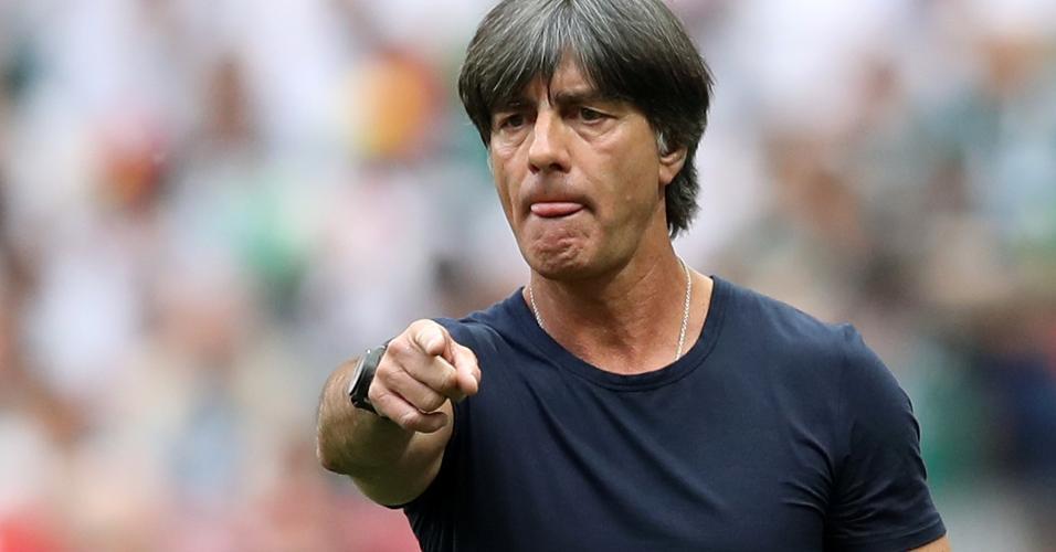 Low durante jogo entre Alemanha e México