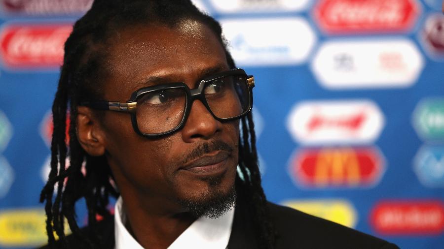 Aliou Cissé, técnico de Senegal - Getty Images