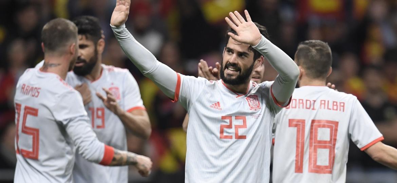 Espanha goleou a Argentina na última janela de amistosos da Fifa - Gabriel Bouys/AFP