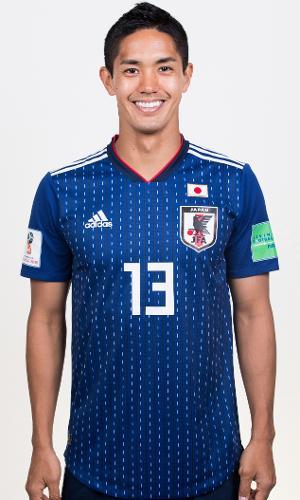 Yoshinori Muto, atacante da Seleção do Japão