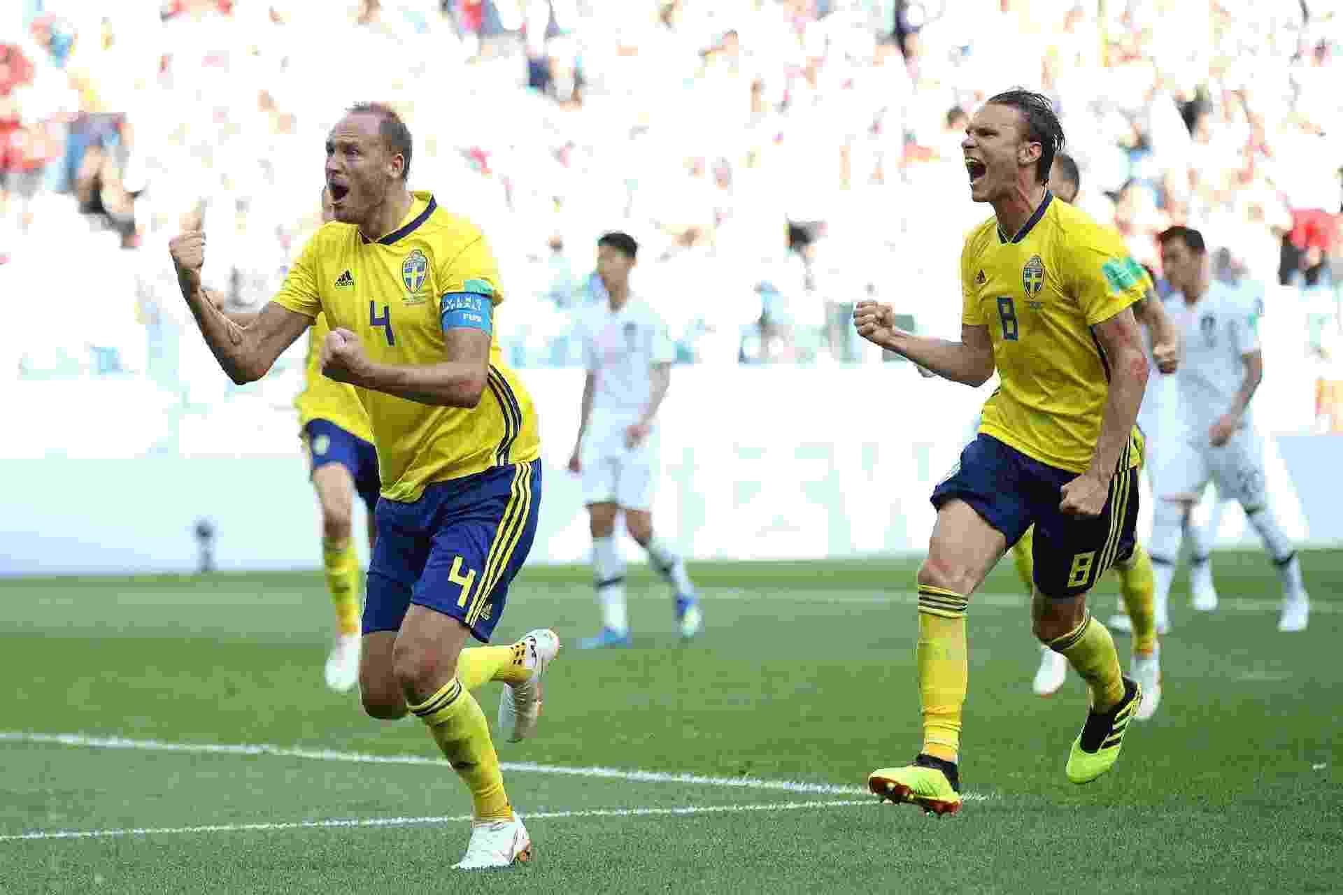 1c49b8d183 Suécia na Copa 2018  Suécia vê Alemanha ameaçada na Copa do Mundo ...