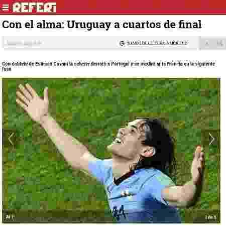 Referi, do Uruguai - Reprodução - Reprodução