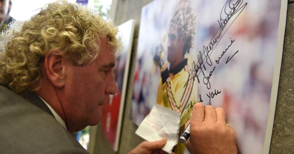 Jean-Marie Pfaff, goleiro da Bélgica na campanha da quarta colocação em 1986