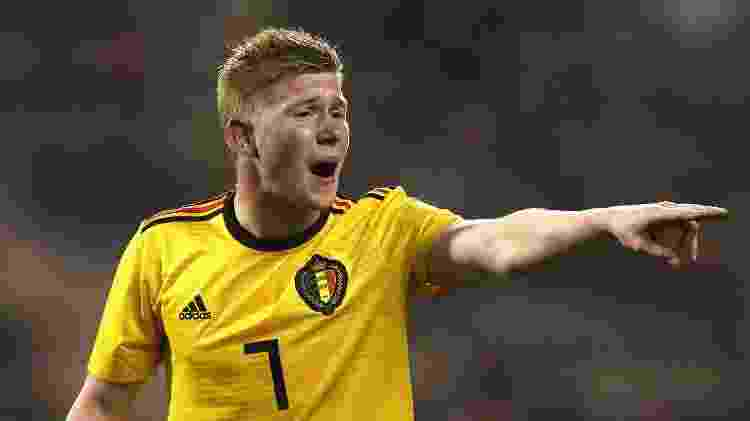 Kevin de Bruyne Bélgica - David Rodgers/Getty Images - David Rodgers/Getty Images