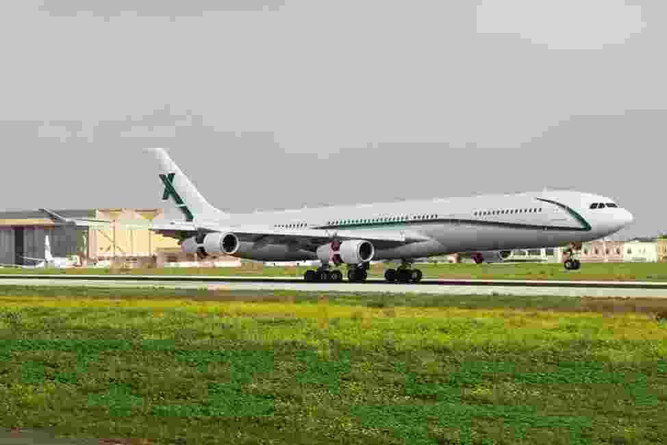 Avião que levou a seleção brasileira para Londres - Divulgação