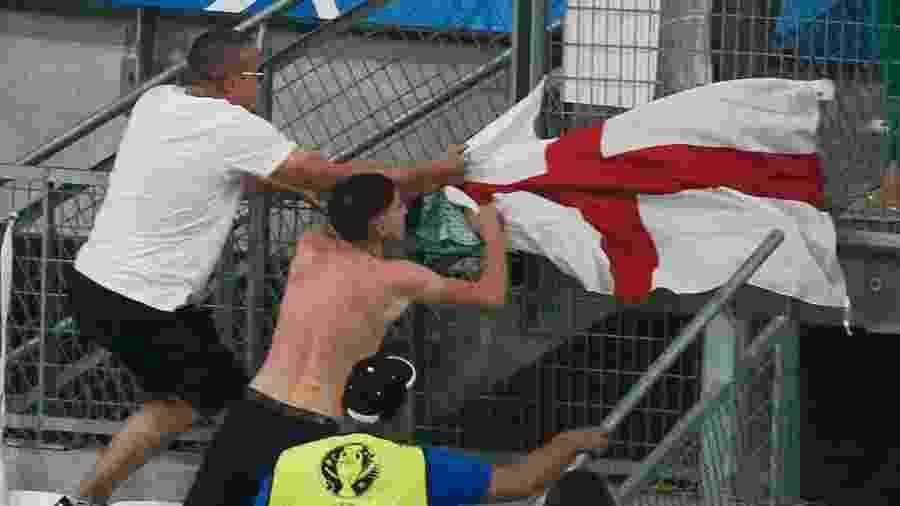 Polícia britânica avisa  pode ser perigoso mostrar bandeira inglesa na Copa 1d1f9ff1bd002