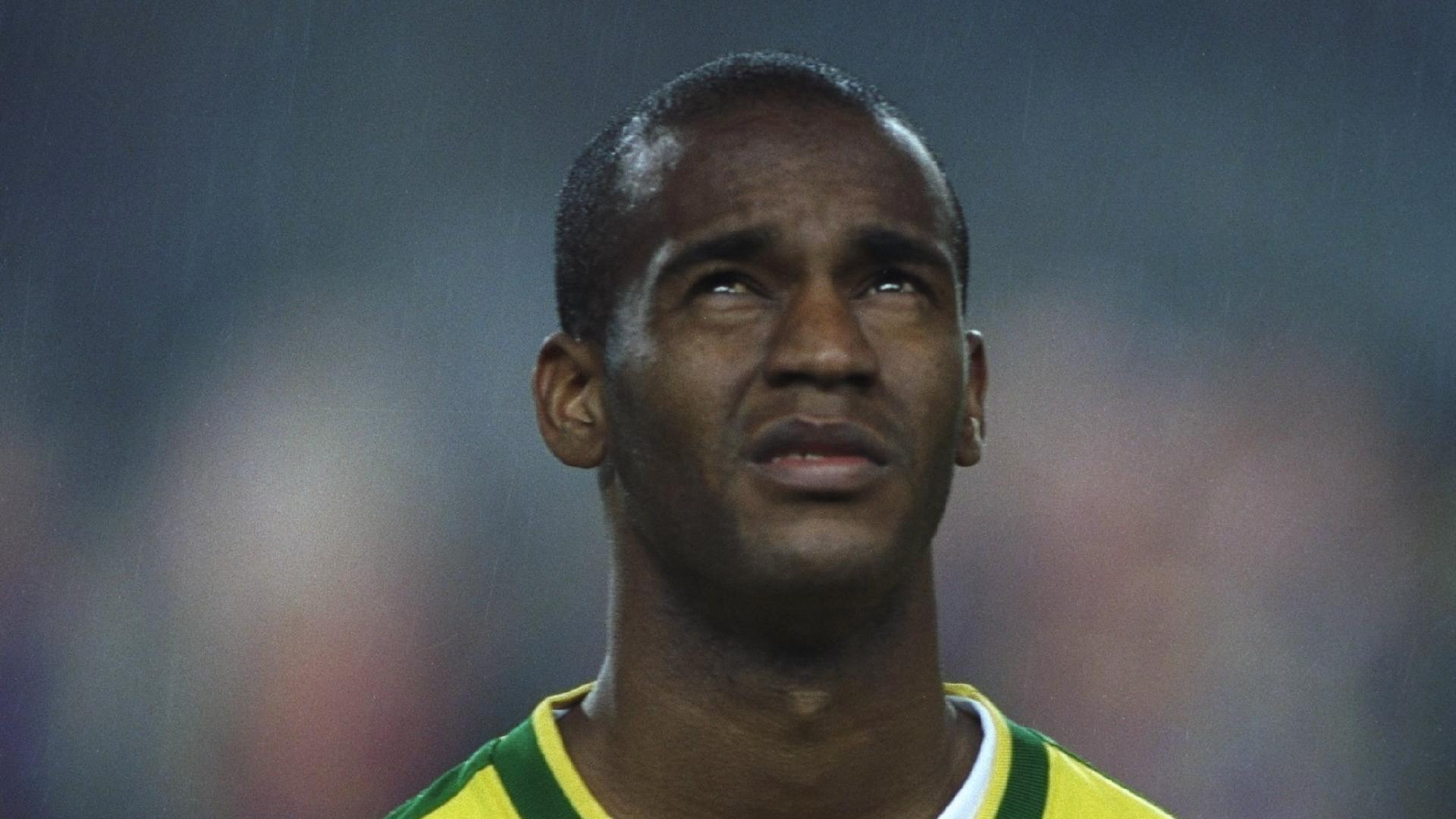 Flavio Conceição, durante período em que defendeu a seleção brasileira