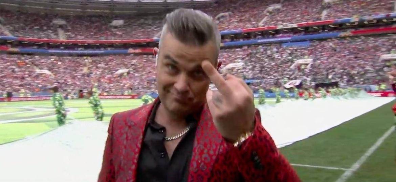 Robbie Williams - Reprodução