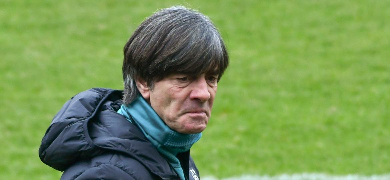 Joachim Löw, treinador da Alemanha: a goleada não é assunto para eles - Patrik Stollarz/AFP