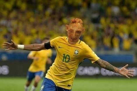 Neymar coxinha