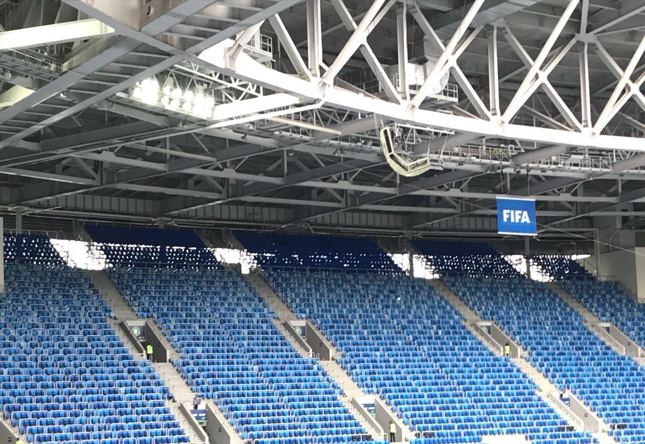 Arena de São Petersburgo conta com