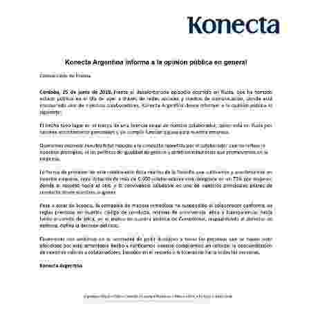 Konecta Argentina - Reprodução - Reprodução