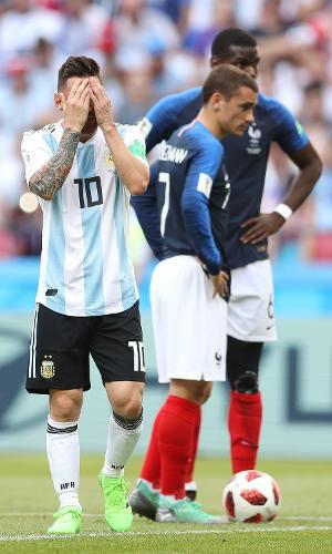 França x Argentina: Messi, Griezmann e Pogba