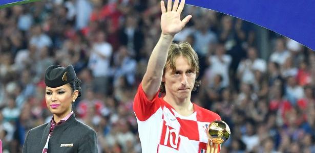 73ce3cd5da Modric é eleito o melhor jogador do ano pela IFFHS  Neymar fica em ...