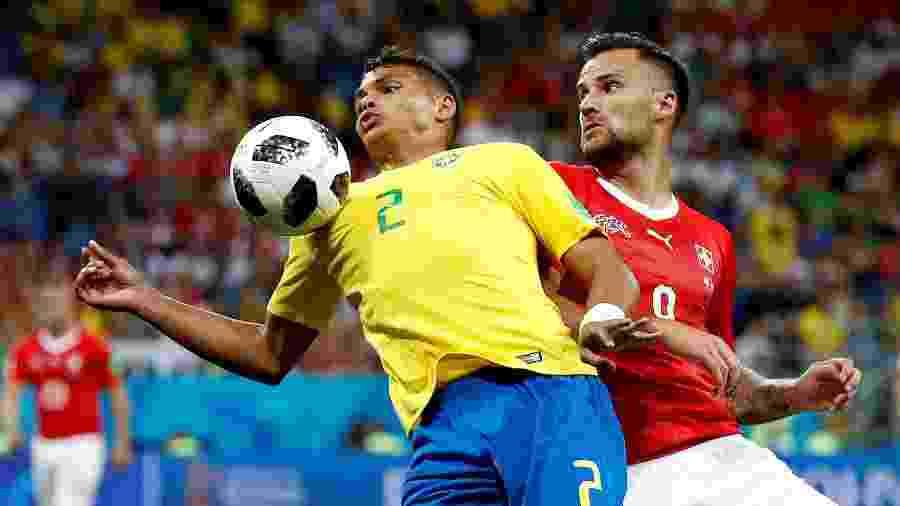 Empate com a Suíça colocou pressão sobre comandados de Tite, mas Costa Rica também não venceu - Damir Sagolj/Reuters
