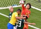 Ochoa volta a brilhar contra o Brasil, mas desta vez não evita derrota - AFP PHOTO / SAEED KHAN