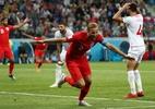 Kane explica por que se recusou a trocar camisa com jogador da Tunísia (Foto: Sergio Perez/Reuters)