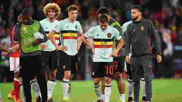 Hazard triste Bélgica - Michael Regan/Getty Images - Michael Regan/Getty Images
